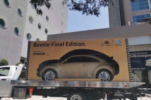 Amazon entrega su primer auto a domicilio en México