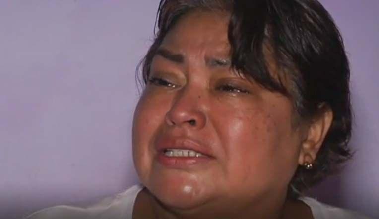 """El llanto de la inmigrante mexicana a la que no dejan regresar a EEUU por ser """"carga pública"""""""