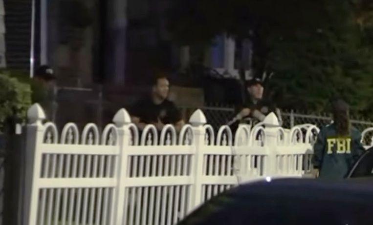 FBI y NYPD en la escena