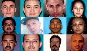 El FBI busca a 12 fugitivos que presuntamente huyeron a México tras cometer crímenes en L.A.