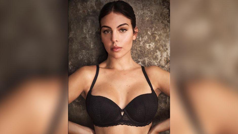 Con baile erótico la novia de CR7 lanza campaña de lencería sexy