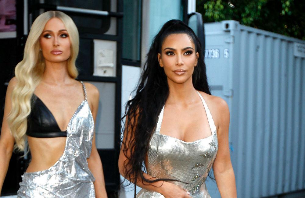 Paris Hilton y Kim Kardashian.