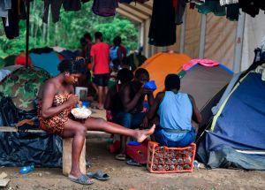 """Los migrantes """"extracontinentales"""" en el tapón del Darién son un creciente reto para EEUU"""