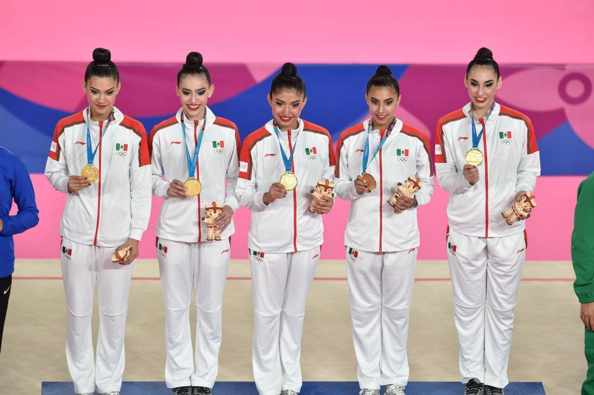 Mexicanas ganaron oro en gimnasia rítmica en Juegos Panamericanos y hoy revelan su secreto