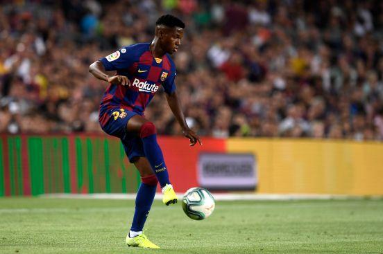 Ansu Fati es el segundo jugador más joven en la historia del club.