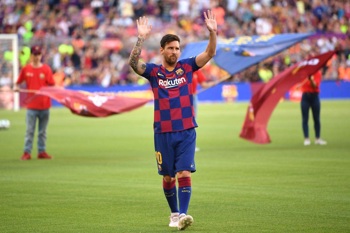 Messi está de vuelta en Barcelona