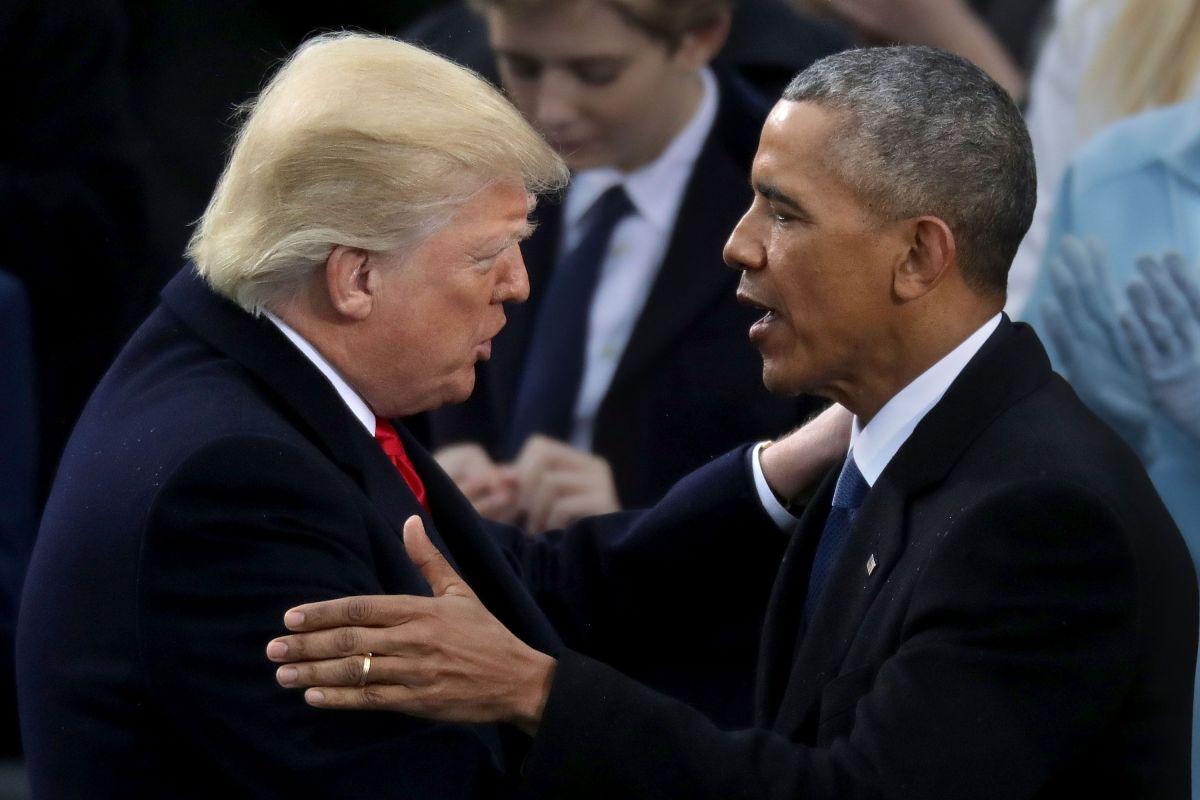 """Aseguran que Obama llamó """"fascista"""" a Trump, uno de los ataques más duros del expresidente"""