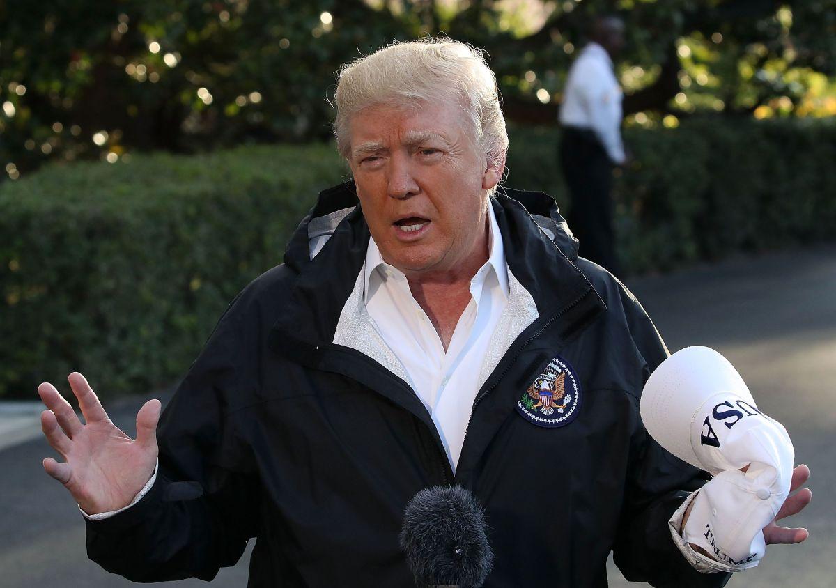 """Trump destaca que tormenta golpeará, """"como de costumbre"""", a Puerto Rico; afirma que él es lo mejor para la isla"""