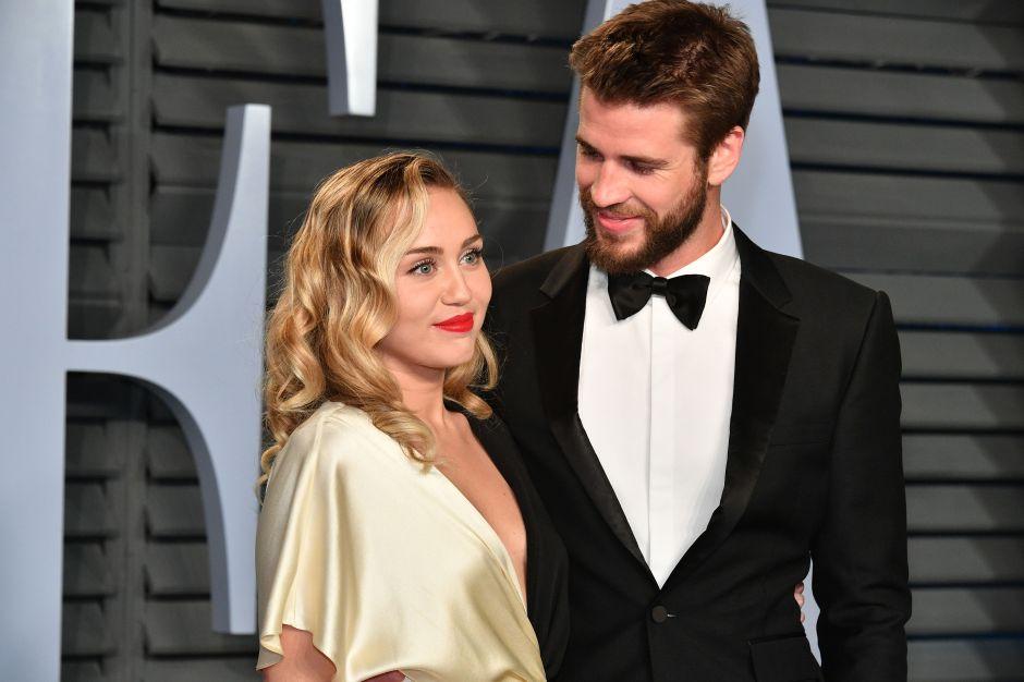 Liam Hemsworth le dedica unas palabras a Miley Cyrus, tras el escándalo de verla besarse con otra mujer
