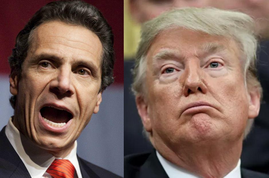 Gobernador de Nueva York le manda fuerte derechazo a Trump