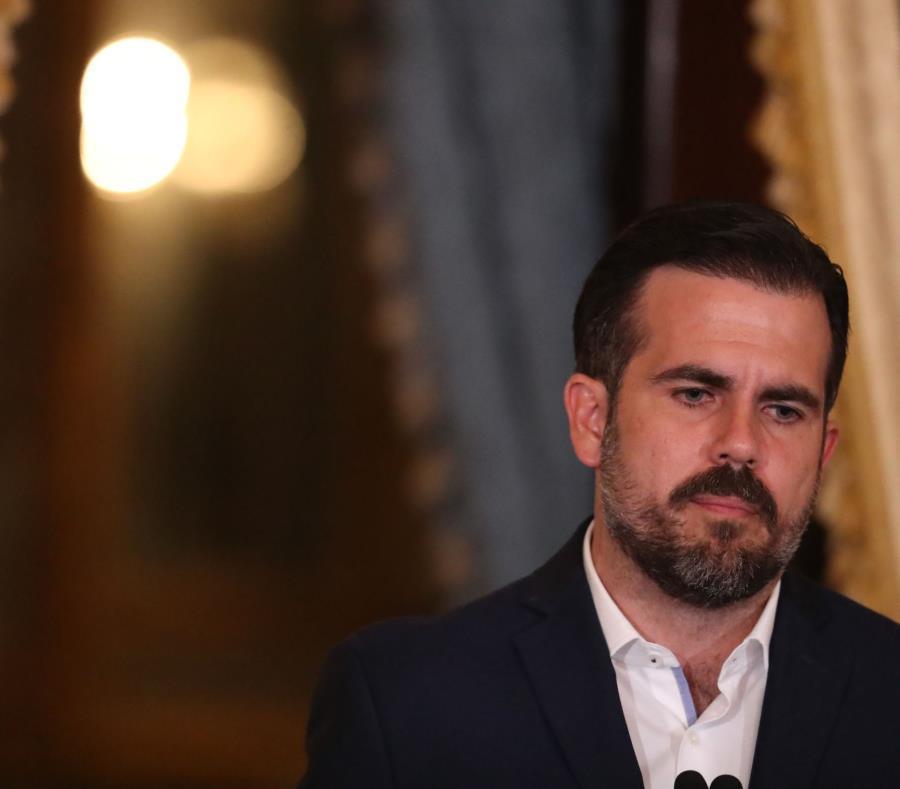 Ex gobernador Ricardo Rosselló.