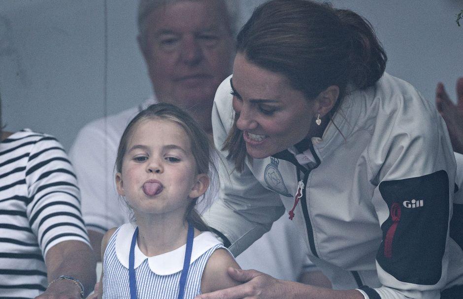 Hija de la duquesa de Cambridge protagoniza tremenda travesura. Mira la reacción de Kate Middleton