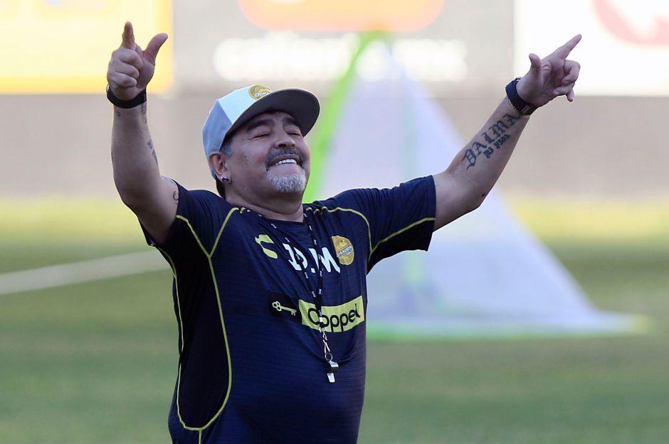 Nueva revolución en puerta: Maradona busca volver a Dorados de Sinaloa