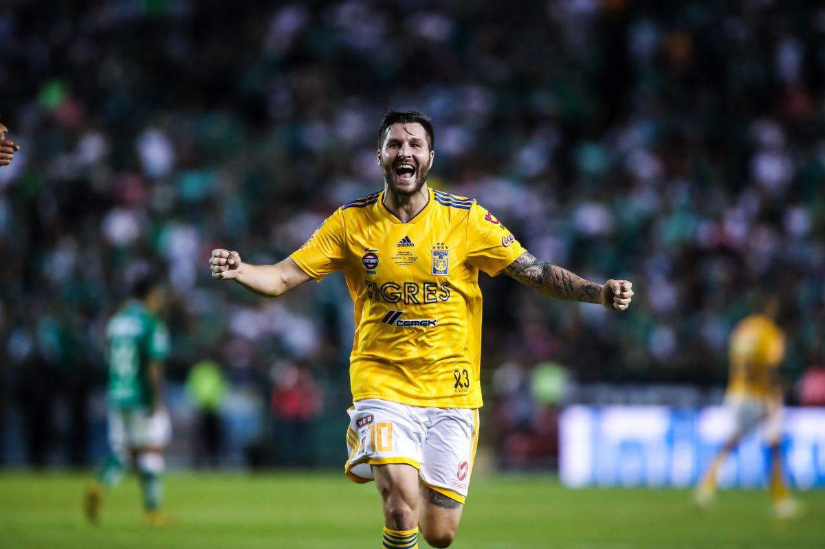 André-Pierre Gignac, tal vez el mejor futbolista extranjero de la actual Liga MX.