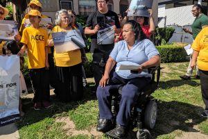 Inquilinos del sur de Los Ángeles acusan a su arrendatario de acoso y malas condiciones de viviendas