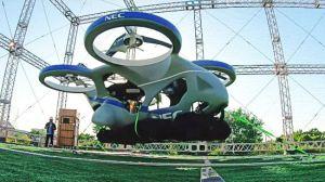 Prueban el primer auto volador en Japón y es todo un éxito
