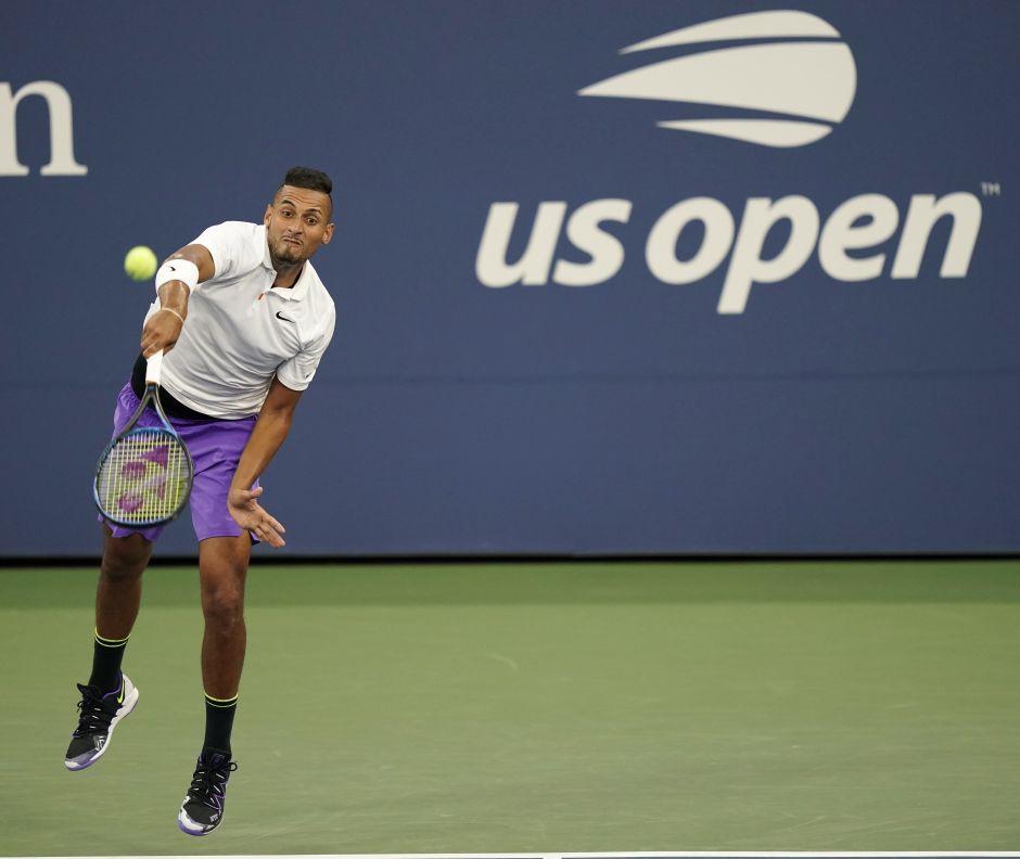Mocos y sudor genital: el regalo de Kyrgios a un fanático en el US Open