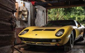 Encuentran Lamborghini Miura que pasó 50 años oculto en una bodega: se venderá en más de un millón de dólares
