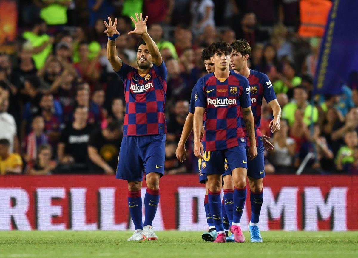 Los héroes comunes: Luis Suárez salva al Barça ante el Arsenal