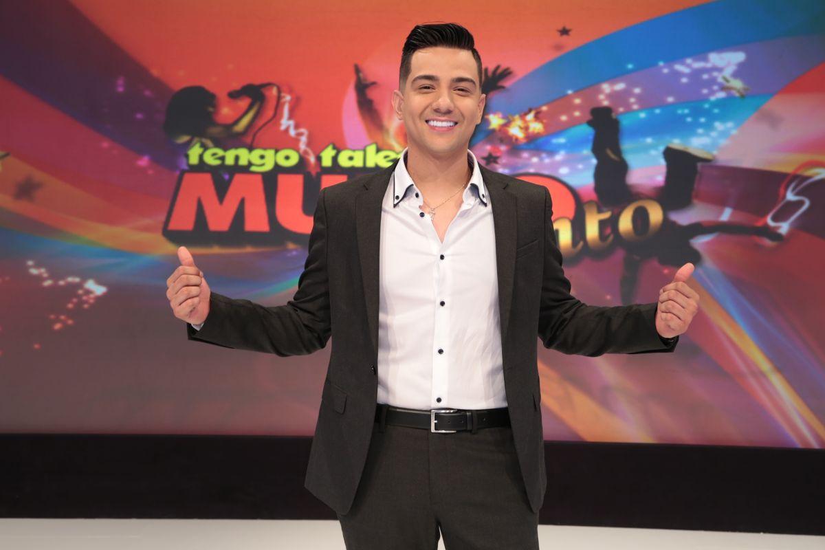 """Luis Coronel, el nuevo presentador de """"Tengo Talento, Mucho Talento"""""""