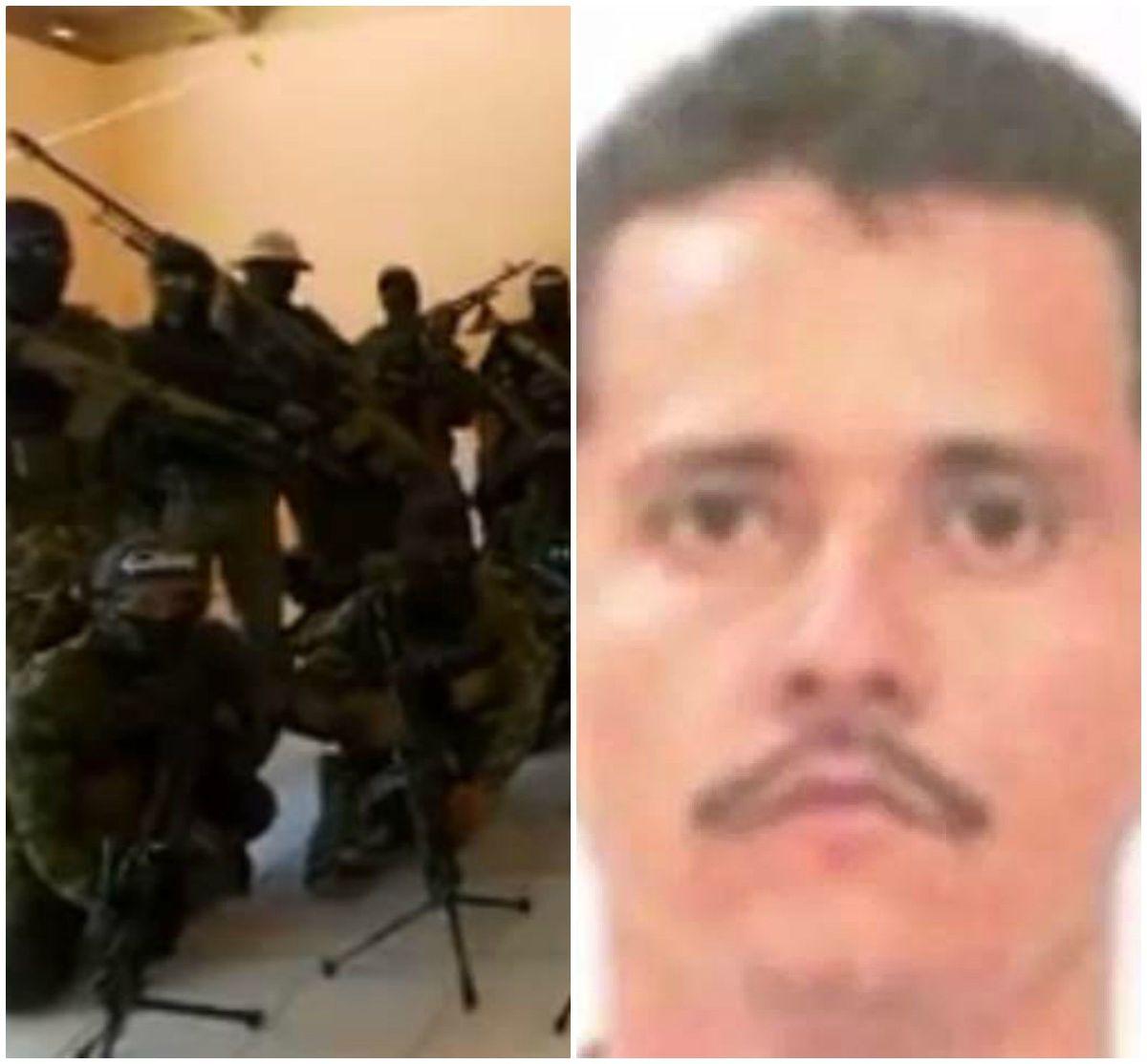 """""""El Mencho"""" del CJNG aparece en video para embarrar al gobernador de Jalisco y a su esposa"""