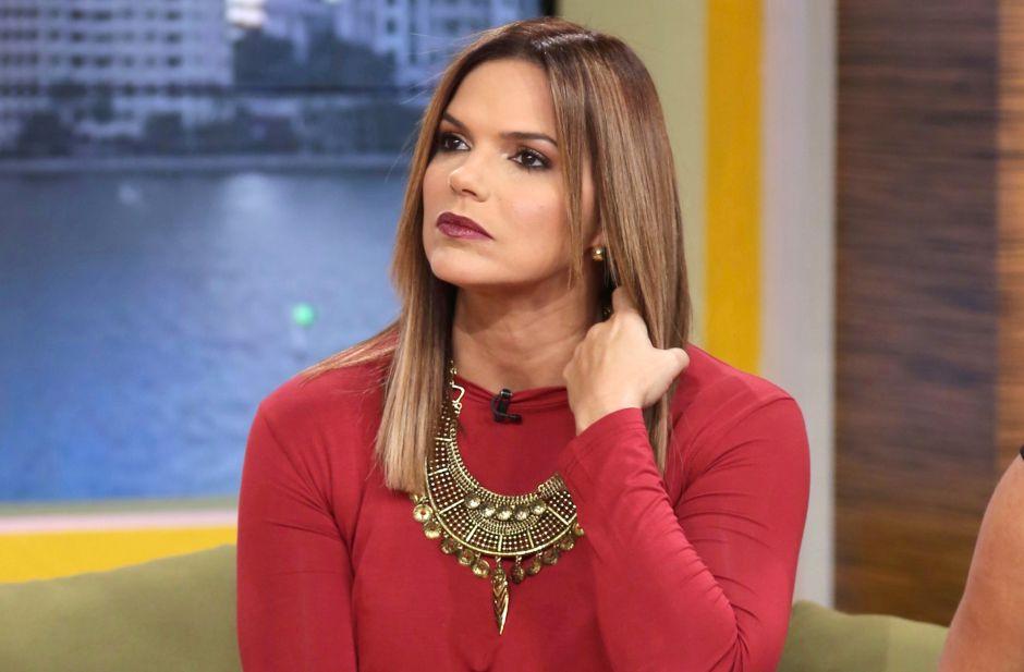 Rashel Díaz se enfrenta en pleno show a su fobia contra los sapos
