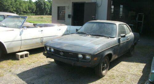Ponen a la venta un Opel Manta que permaneció 40 años oculto, y su precio es ridículamente barato