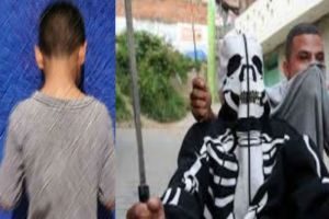 Sicarios secuestran y torturan a El Junior, supuesto niño narco de sólo 14 años