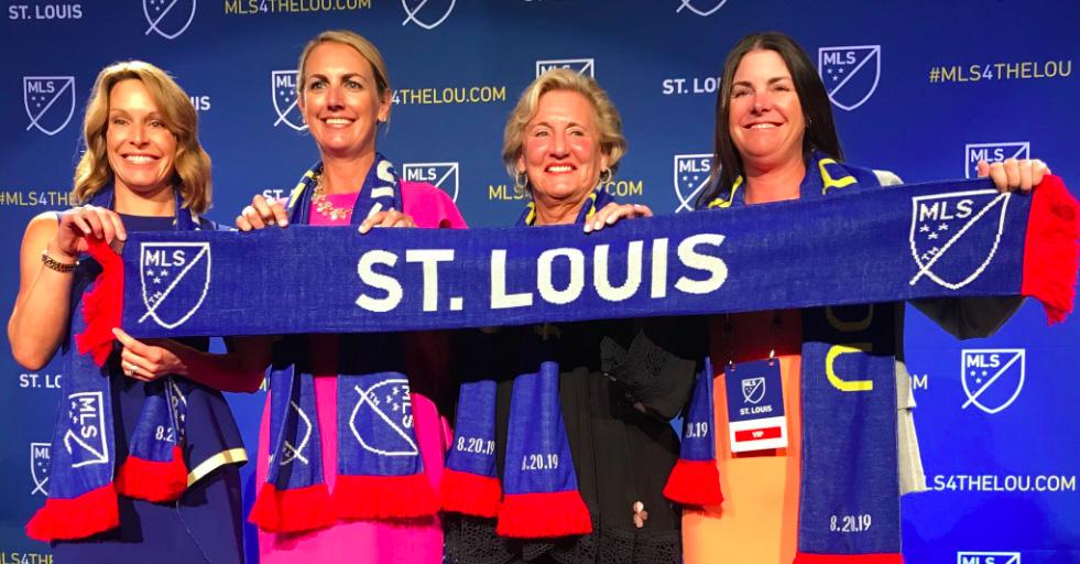 St Louis será el nuevo equipo de la MLS a partir del 2022.