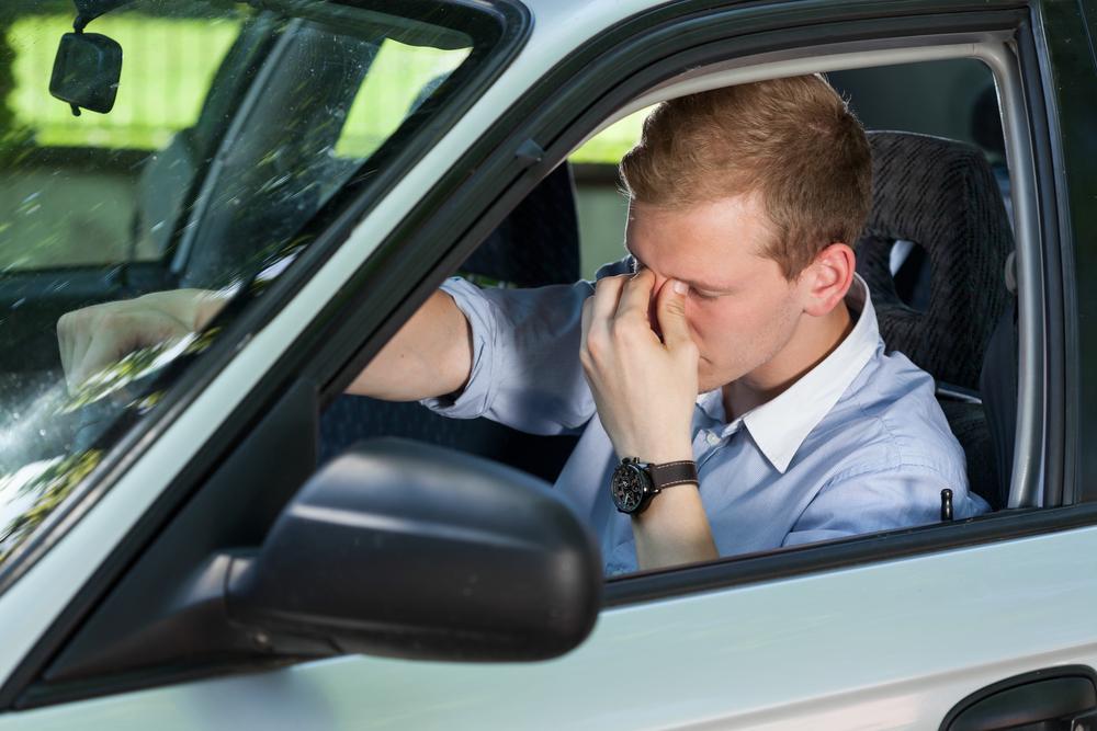cansancio al conducir