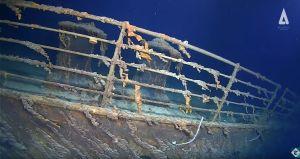 """Revelan imágenes """"impactantes"""" del Titanic a 107 años del hundimiento"""