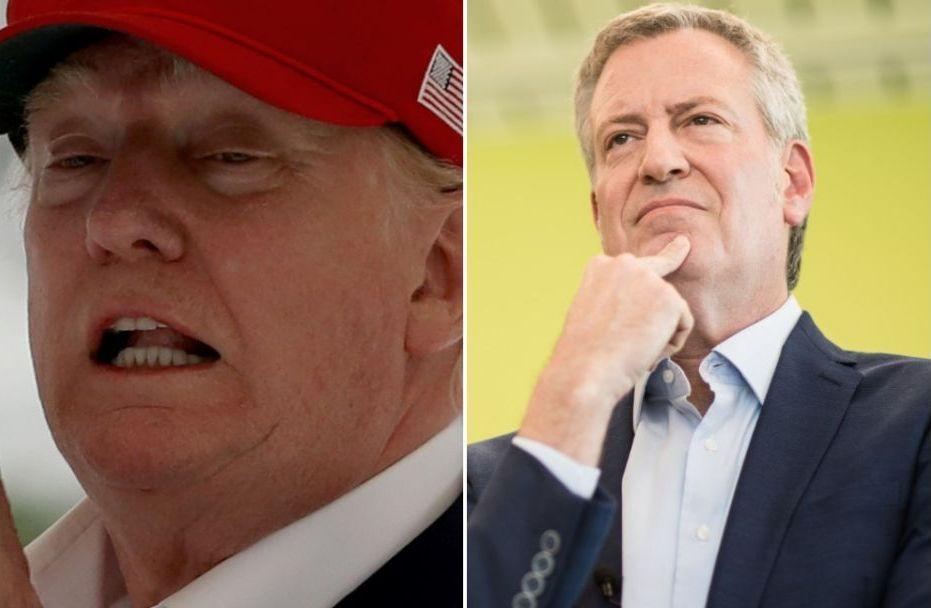 Al alcalde De Blasio lo quieren menos que a Trump en Nueva York, según encuesta