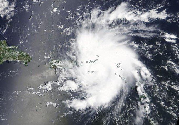 El huracán Dorian ahora tiene posibilidades de golpear EEUU con fuerza.