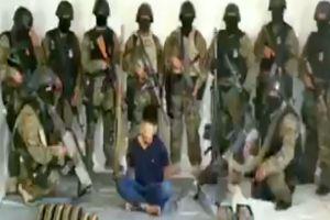 VIDEO: 10 sicarios interrogan a integrante del Cártel de Sinaloa y Gente Nueva