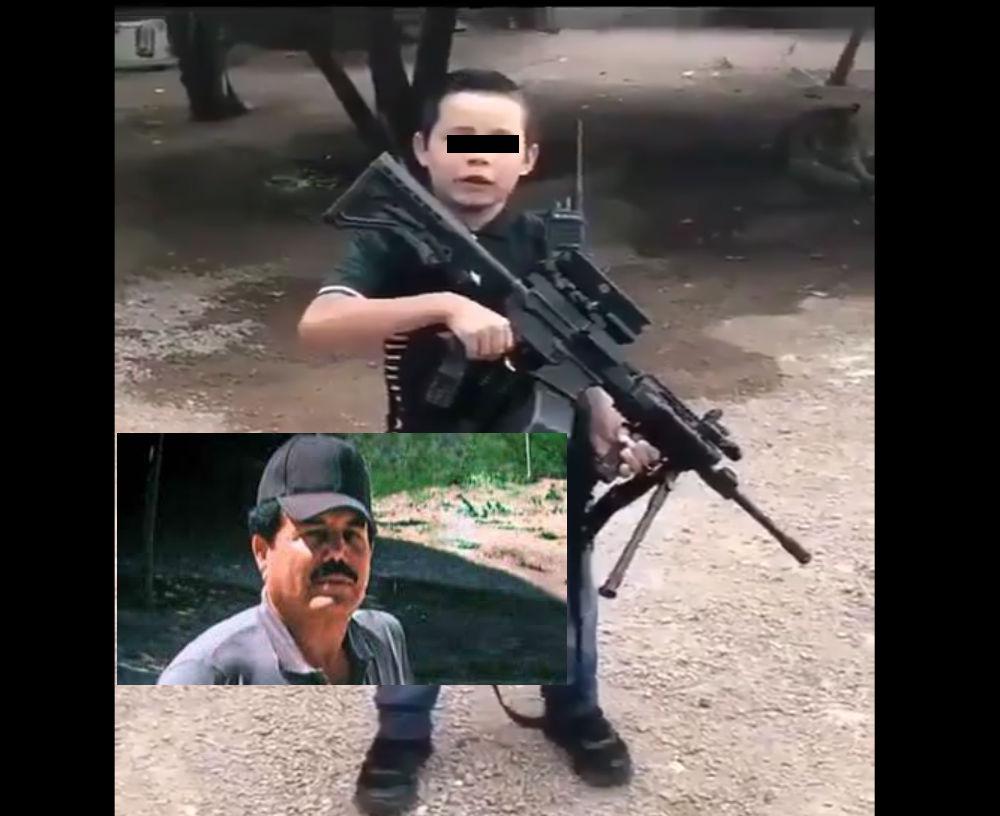 VIDEO: Así amenaza supuesto niño sicario que dice ser gente de El Mayo Zambada