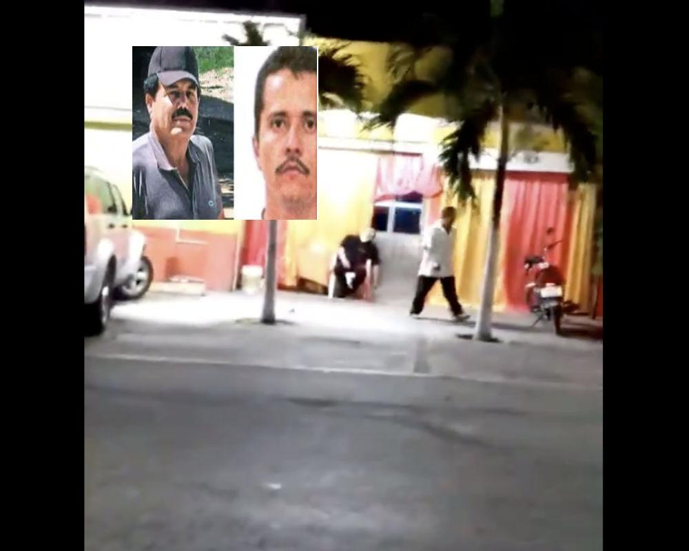 VIDEO: Así dejaron a guardia de seguridad en zona que se pelean El Mayo Zambada y El Mencho