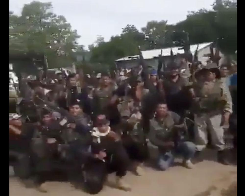 VIDEO La Familia Michoacana y El Zarco mandan temible mensaje a el CJNG y El Mencho