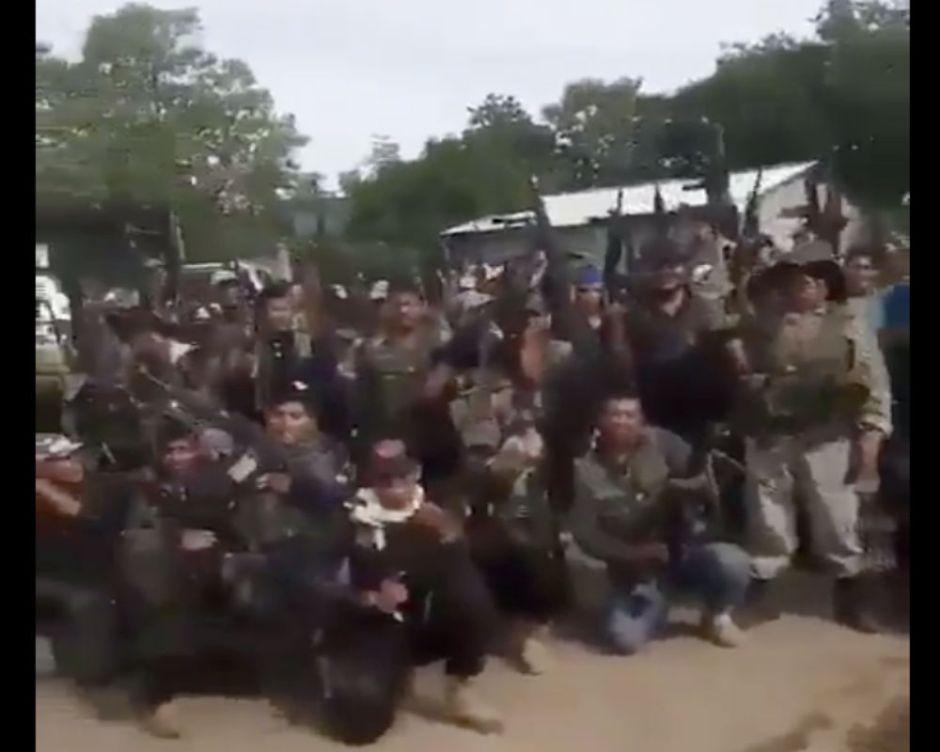 VIDEO: La Familia Michoacana y El Zarco mandan temible mensaje al CJNG y El Mencho