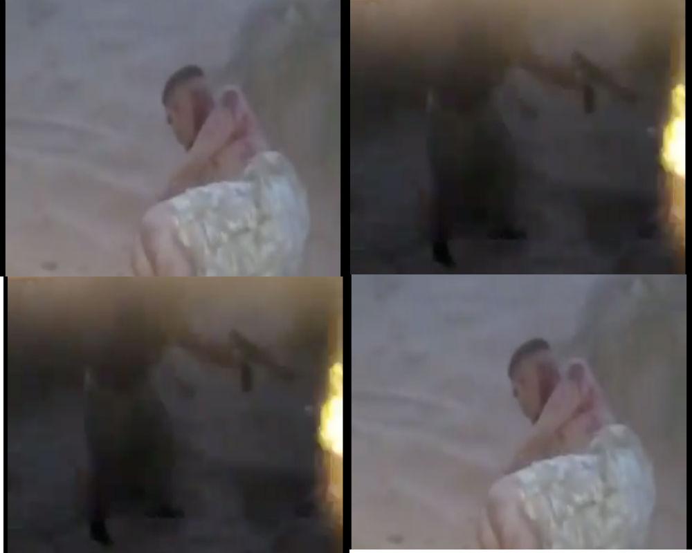 Narcos Escenas Porno video: narcos ejecutan a balazos y entierran a su víctima en