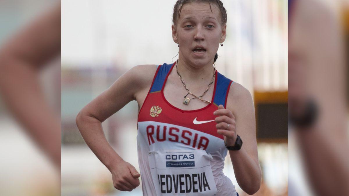 Yekaterina Medvedeva llegó a ser una de las máximas jóvenes promesas del atletismo ruso