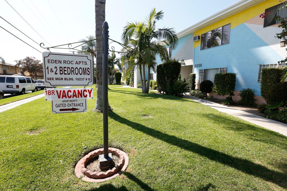 Inquilinos de LA no podrán ser desalojados por no pagar. Tendrán hasta seis meses para hacerlo