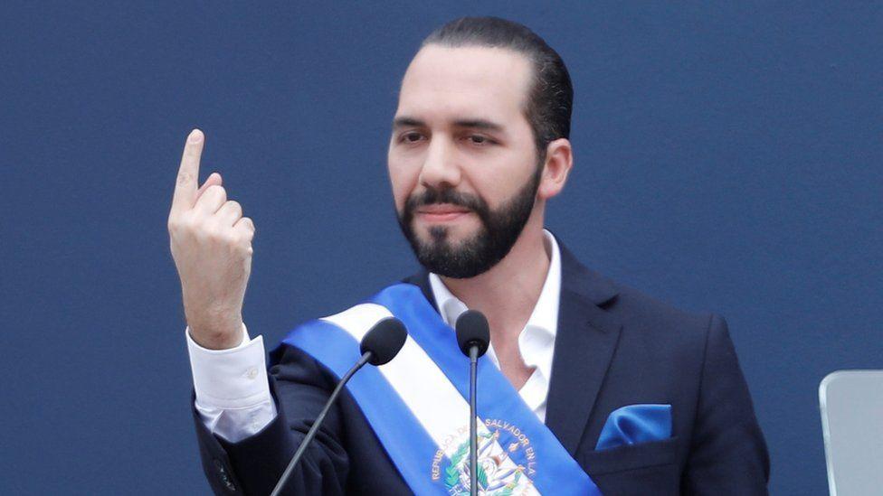 Presidente de El Salvador Nayib Bukele.