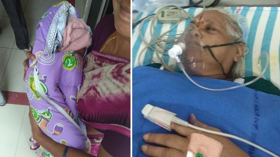 Madre primeriza: Mujer de 73 años da a luz a gemelas