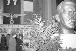 Descubren un busto de Hitler que escondido durante 75 años en el Senado en Francia