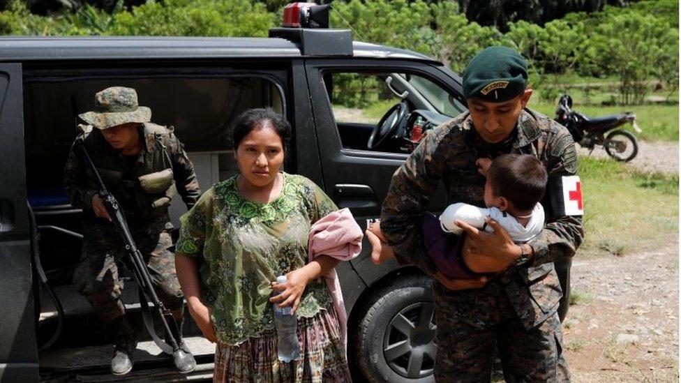 """El Estor, la """"zona caliente"""" de Guatemala en estado de sitio"""