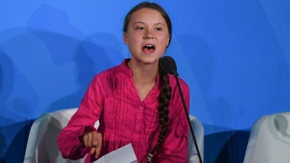 Video: Escucha el sampleo que hizo Fatboy Slim sobre el famoso discurso de Greta Thunberg