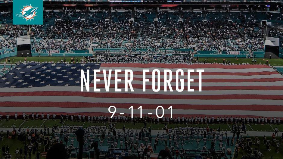Equipos de la NFL, NBA, MLS y MLB se unen para rendir homenaje a las víctimas del 9/11