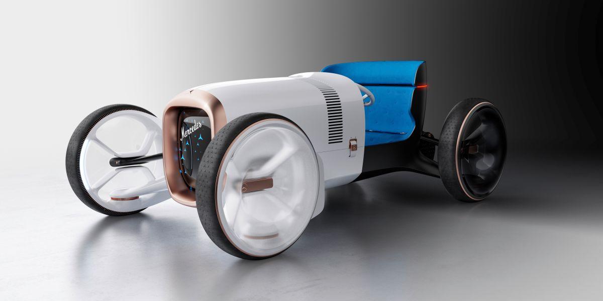 Mercedes traerá de vuelta su primer auto moderno, pero ahora como un concepto futurista