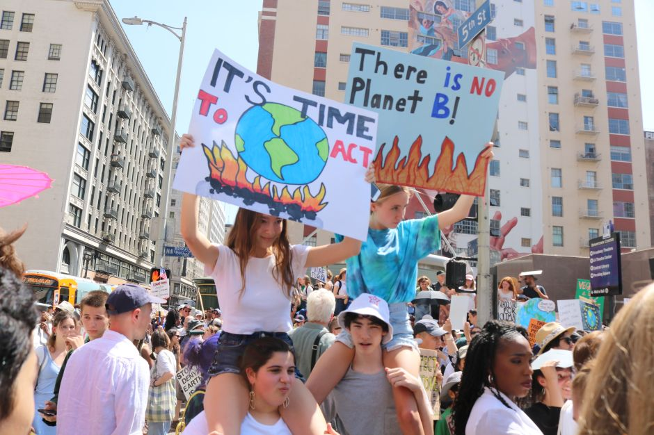 Grito por el clima: 'Haremos que nos escuchen'