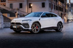 Video espía del nuevo modelo de la Urus de Lamborghini